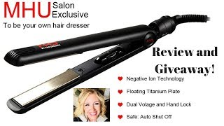 Best Affordable Flat Iron? MHU Flat iron review and Giveaway!!