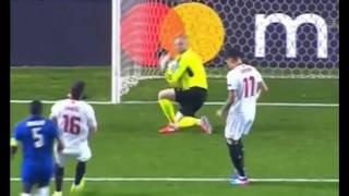 Sevilla Vs. Leicester City 2016-17 UEFA Champions League ALL Goals And Highlights 2/22/2017