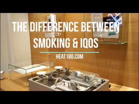 Smoking vs IQOS