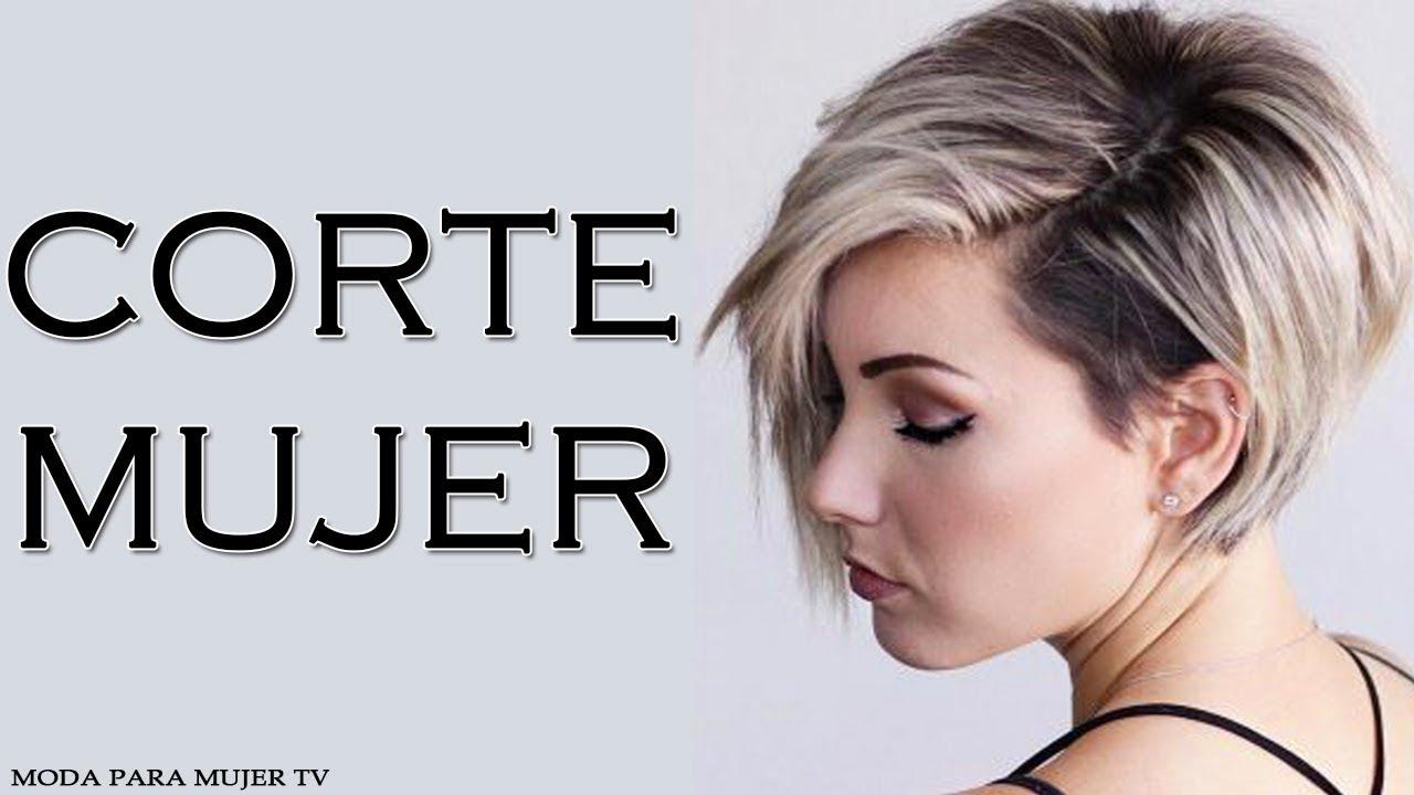 Corte Mujer Cabello Corto 2017 2018 Tendencias Para Cabello Corto - Pelo-corto-de-moda