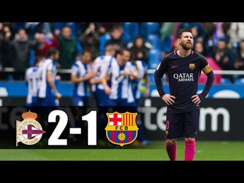 Deportivo vs FC Barcelona [2-1][12/03/2017][La Liga - Jornada 27] EL BARÇA JUGA A RAC1