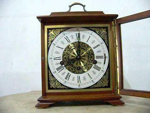 Three Melodies Mantel Clock
