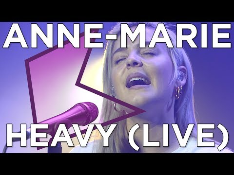 Anne-Marie - Heavy (Live) | KISS Presents