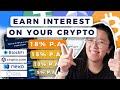 💵 Earn Interest on your Crypto 2020 | Crypto Interest Accounts (BlockFi, Crypto.com, Nexo, Celsius)
