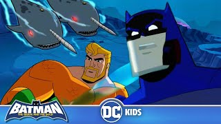 Batman the Brave and the Bold | Batman's Underwater Adventure | DC Kids