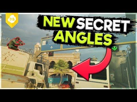 NEW Secret Angles on Border - Rainbow Six : Siege Operation Grim Sky