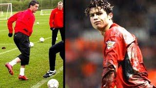 Wieso wurde Ronaldo früher bei ManUnited gemobbt ?!