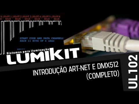 Lumikit - Introdução ao DMX512 e Art-Net