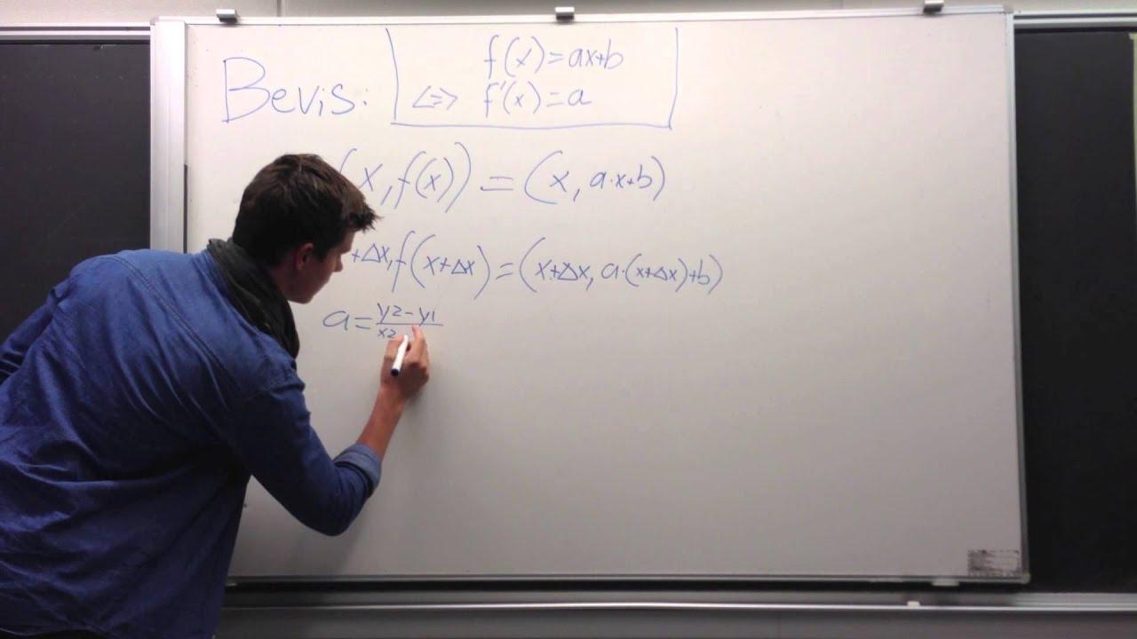 Projekt Differentialregning Bevis 1
