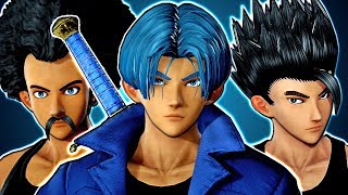 JUMP FORCE - HOW TO MAKE DRAGON BALL CHARACTERS! Gohan, DBS Trunks, Tien, Hercule CaC Gameplay
