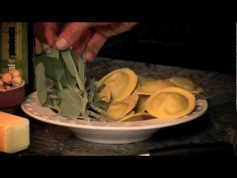 That's Vegetarian – Butternut Squash Ravioli in Roasted Hazelnut Brown Butter Sage Sauce