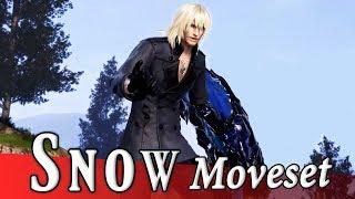 Snow Villiers (LR) Moveset + Detail - Dissidia Final Fantasy NT (DFFAC/DFFNT)