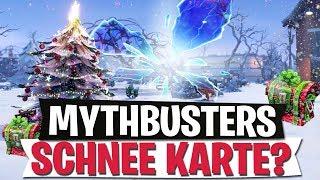 NEUE SCHNEE KARTE & BURG IM RIFT? | MYTHBUSTERS | Fortnite Battle Royale