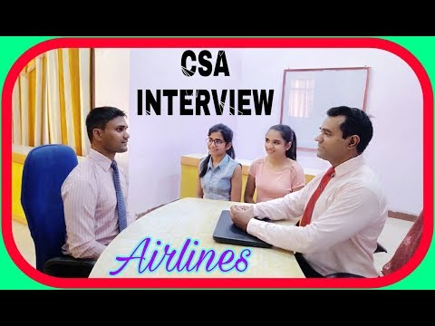Customer #service #agent Interview : #Airline #csa