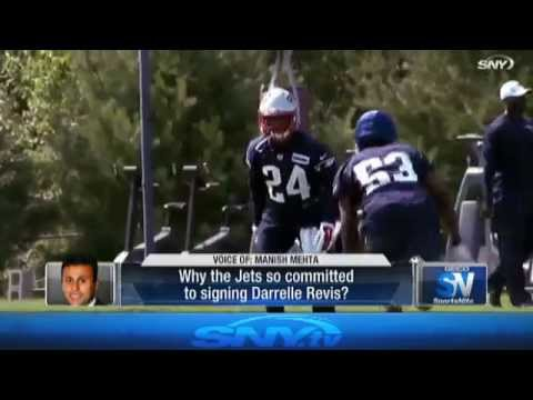 Darrelle Revis returns to New York Jets