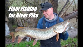 Float Fishing for River Pike