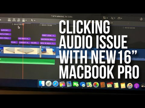 MacBook Pro 16-inch owners report glitchy speakers and