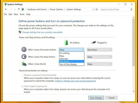 you tube how to change password laptop windows 10