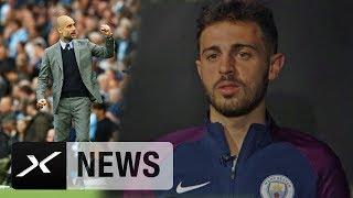 "Bernardo Silva bei Manchester City: ""Erwarten Titel mit Pep Guardiola"" | Premier League"