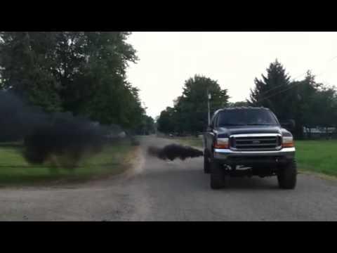 Monster 73l Rollin coal  YouTube