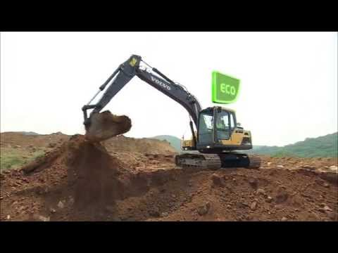 Volvo EC120D, EC140D - Fuel efficiency