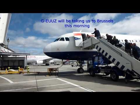 British Airways/London LHR-Brussels/Euro Traveller/A320-200/JUL2016