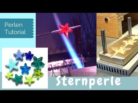 perlenstern---glasperle-mit-sternpresse,-lampwork-bead-star
