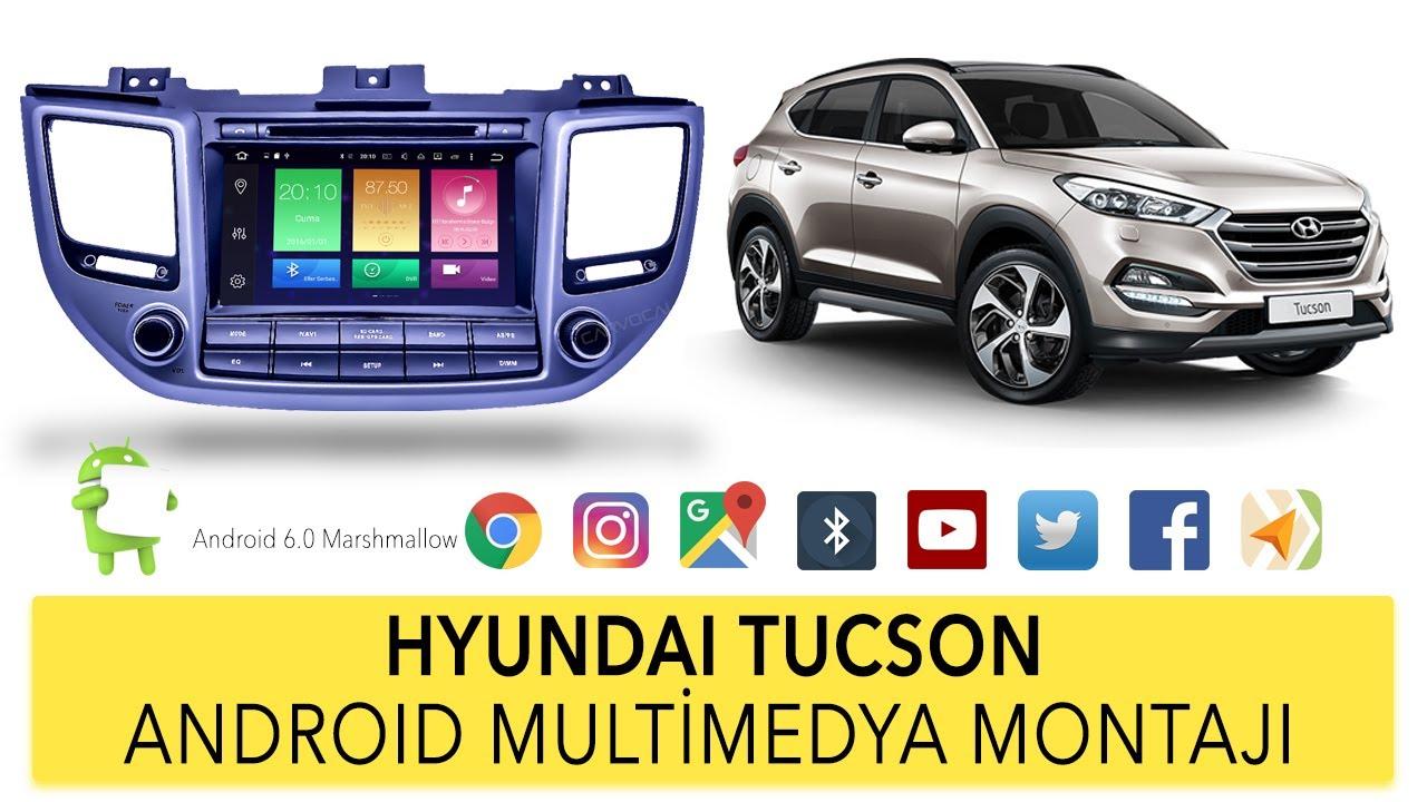 hyundai tucson android multimedya sistemi montaj youtube. Black Bedroom Furniture Sets. Home Design Ideas