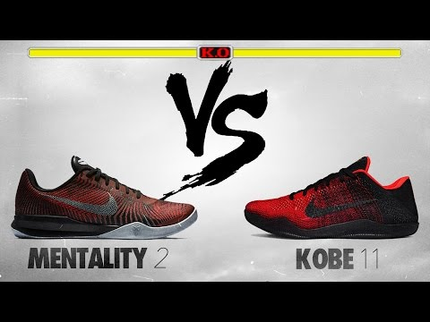 Nike Kobe Mentality 2 vs Nike Kobe 11!