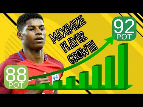 FIFA 17 Career Mode - How to GLITCH Player Potentials to Maximize Growth!