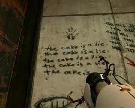 Portal: The cake is a lie!!