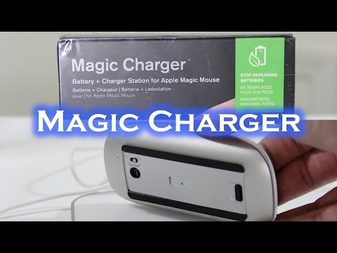 Mobee Magic Charger For Apple Magic Mouse - Unboxing & Setup