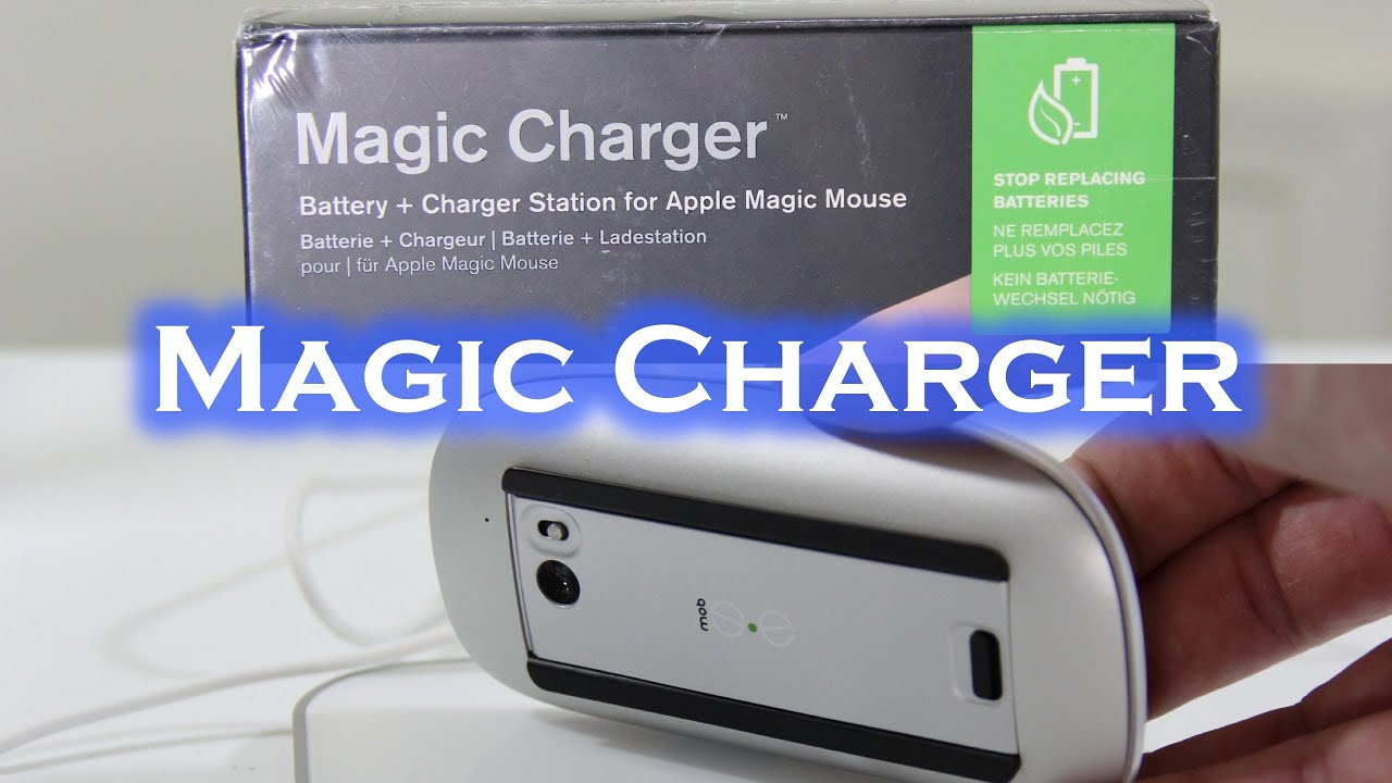 34653d33241 Mobee Magic Charger for Apple Magic Mouse - Unboxing & Setup - YouTube