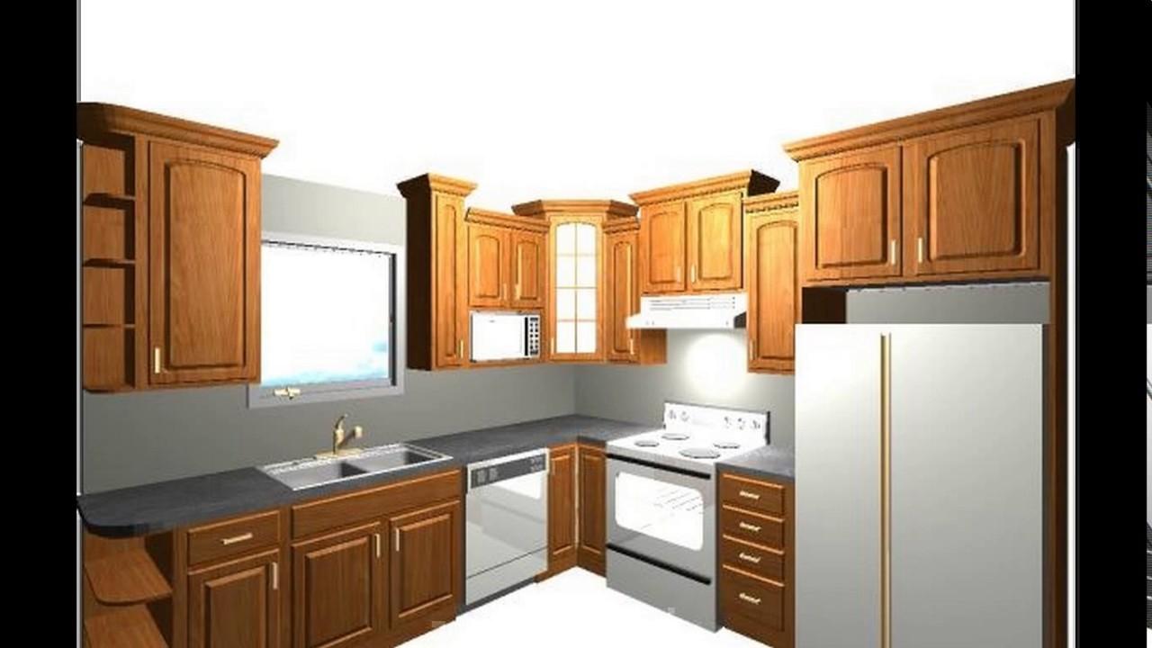 10x10 kitchen design wall shelf ideas youtube