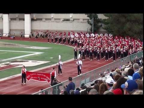 Pulaski HS Red Raider Marching Band - 2017 Pasadena Bandfest