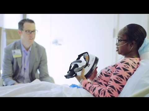 Virtual Reality Helps Patients at Cedar Sinai Hospital