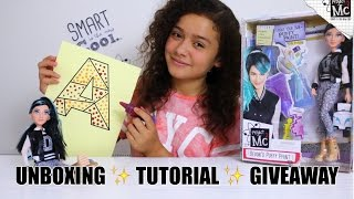 Project MC2 Devon D'Marco doll unboxing and puffy paint tutorial. ➡...