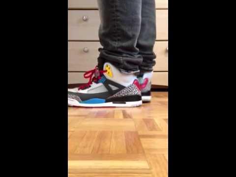 05fa192a10a8 Jordan Spizike Bordeaux On Feet - YouTube