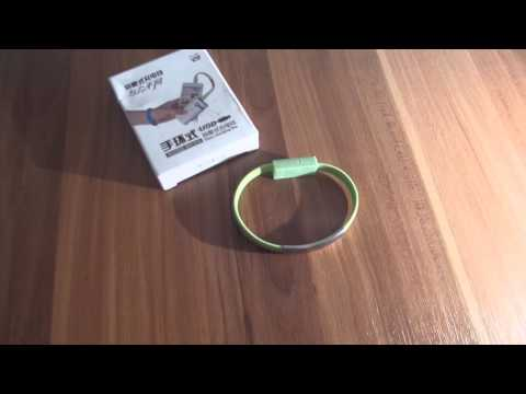 Creative Universal Wristband Cable Micro USB Charging Data Bracelet Cable