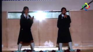 2012-2013 堅樂中學歌唱比賽外語合唱冠軍 3C班 林穎欣 劉美林