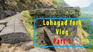 Lohagad fort trip Vlog   Part 1   Moto Vlog