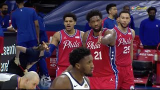 Joel Embiid Encourages Refs To Get Donovan Mitchell Ejected In Overtime