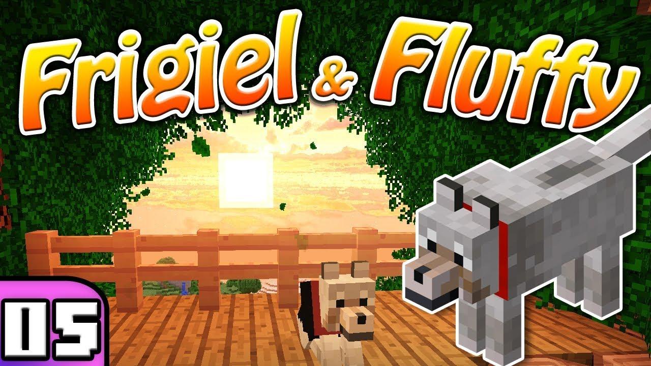 Frigiel Fluffy La Cabane Perchee Minecraft S5 Ep 05