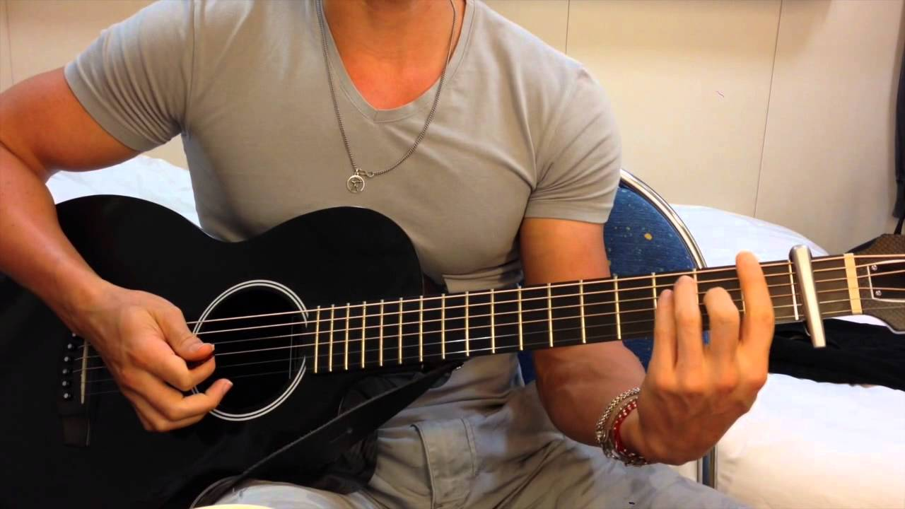 MAGIC! - Rude - GUITAR CHORDS Tutorial - Easy - No Bar Chords - YouTube