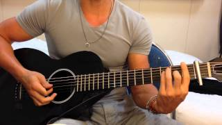 MAGIC! - Rude - GUITAR CHORDS Tutorial - Easy - No Bar Chords