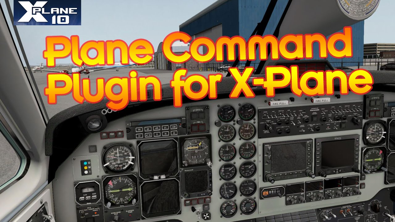 Plane Command Plugin for X-Plane - Amazing