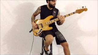 lamb of god - walk with me in hell (bass cover)