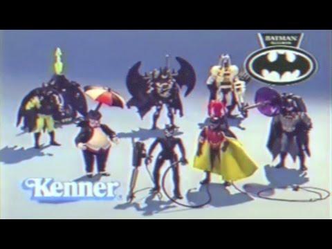 Kenner Batman Returns Action Figures Review  - Can1live Retro Vault