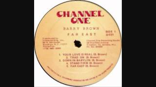 Barry Brown - Far East