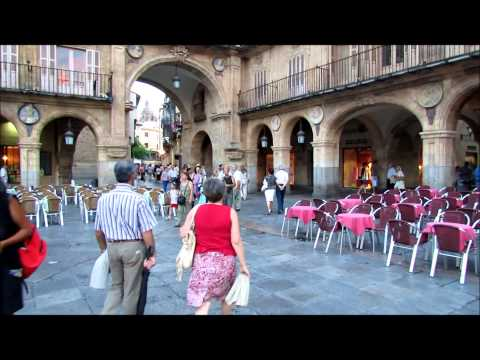 Walking in Salamanca, Spain